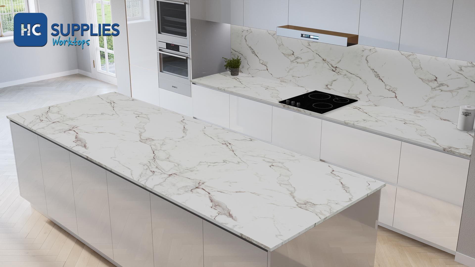 Axiom Veneto Marble  Worktop Product Image